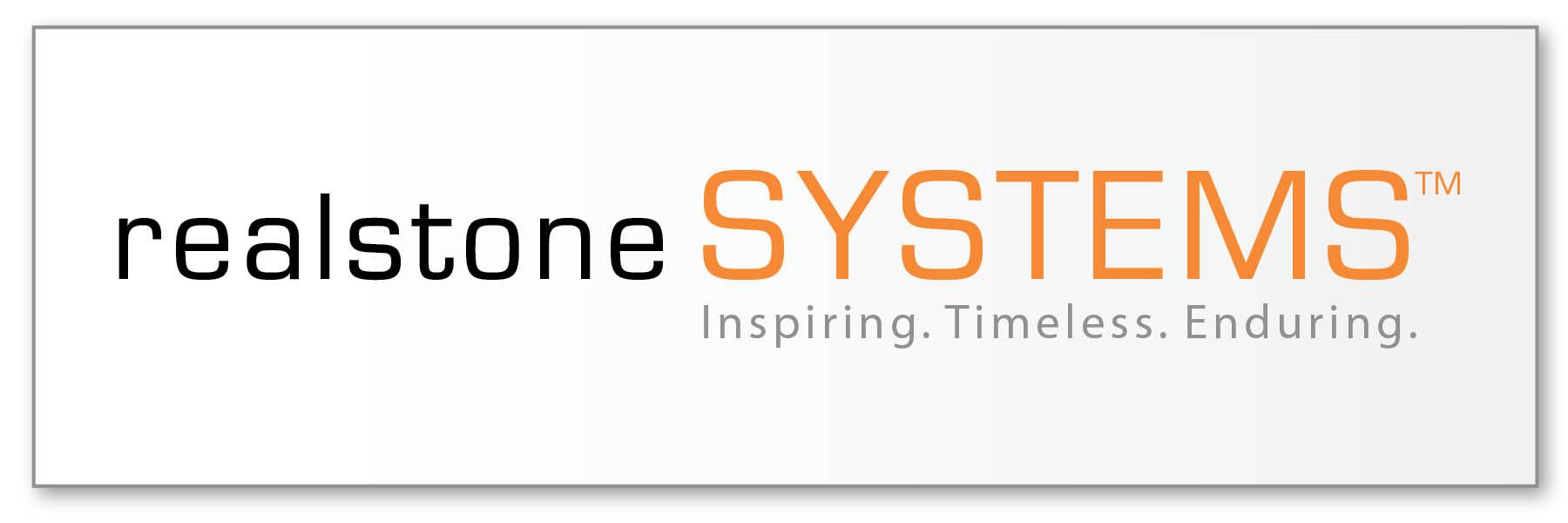realstone gradient logo