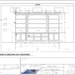 FR Custom Freestanding Cabinet Elev.